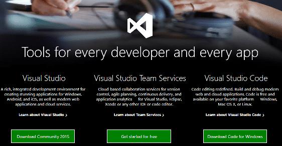 Visual Studio 15 Preview 3